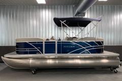 Easy Fold 10' Bimini Top of the 2021 Sylvan 820 LZ Pontoon Boat