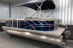 Aft Swim Deck of the 2021 Sylvan 820 LZ Pontoon Boat