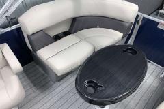 Built-In Cupholders of the 2021 Sylvan 820 LZ Pontoon Boat