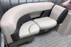 Interior Seating of the 2021 Sylvan 820 LZ Pontoon Boat