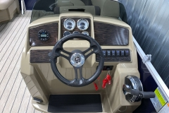 Bluetooth Stereo of the 2021 Sylvan Mirage 8520 Cruise Pontoon Boat