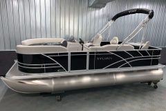 Interior/Exterior of the 2022 Sylvan Mirage 8520 Party Fish Pontoon Boat