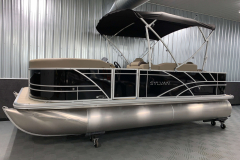 D-Rail Panel Design of the 2021 Sylvan 8520 Party Fish Pontoon Boat