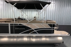 D-Rail Panel Design of the 2021 Sylvan L1 Cruise Pontoon Boat