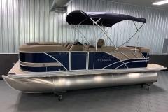 10' Bimini Top of the 2022 Sylvan L1 Cruise Pontoon Boat