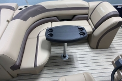 Cruise Seating Configuration of the 2021 Sylvan L1 Cruise Pontoon Boat