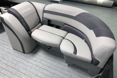 Built-In Cupholders of the 2021 Sylvan L1 LZ Tritoon Boat