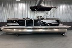 "25"" Pontoon Logs of the 2022 Sylvan L3 LZ Pontoon Boat"