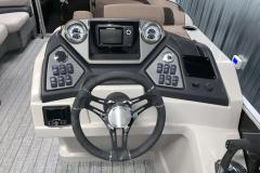 Humminbird Helix 5 on the 2022 Sylvan L3 LZ Pontoon Boat