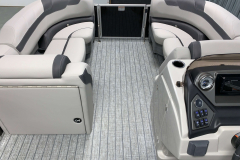 Interior Bow Layout of the 2022 Sylvan L3 LZ Pontoon Boat