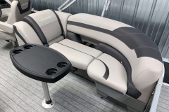 Removable Snack Table of the 2022 Sylvan L3 LZ Pontoon Boat