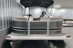 Bow Swim Deck of the 2022 Sylvan L3 Party Fish Pontoon Boat