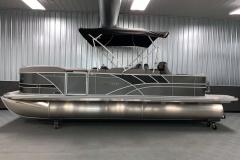 "25"" Pontoon Logs of the 2022 Sylvan L3 Party Fish Pontoon Boat"