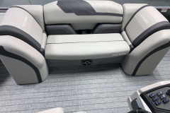 Mid-Ship Lounger of the 2022 Sylvan L3 Party Fish Pontoon Boat