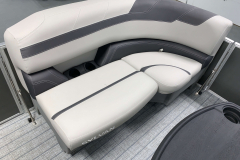 Built-In Cupholders of the 2022 Sylvan L3 Party Fish Pontoon Boat