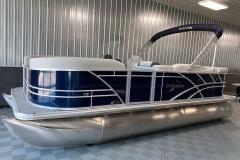 """25"""" Pontoon Logs of a 2021 Sylvan Mirage 8520 Cruise Pontoon Boat"""
