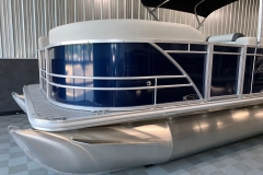 Blue Exterior Color on a 2021 Sylvan Mirage 8520 Cruise Pontoon Boat
