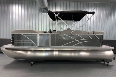 "25"" Pontoon Logs of a 2021 Sylvan Mirage 8520 Cruise Pontoon Boat"