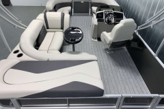 Interior Layout of a 2021 Sylvan Mirage 8520 Cruise Pontoon Boat