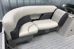 Rotocast Seat Bases of a 2021 Sylvan Mirage 8520 Cruise Pontoon Boat