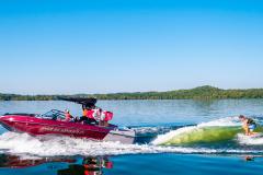 Wake Surfing the 2022 Moomba Mojo Wake Boat