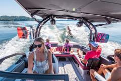 Rear-Facing Seats of the 2022 Moomba Mojo Wake Boat