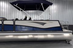 11' Evolution Bimini Top of the 2022 Premier 230 Solaris RL Tritoon Boat