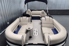 Interior Layout of the 2022 Premier 230 Solaris RL Tritoon Boat