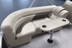 Removable Snack Table of the 2022 Premier 230 Sunspree RF Tritoon Boat