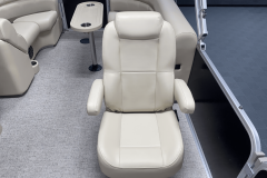High Back Co-Captain's Chair of the 2022 Premier 230 Sunspree RF Tritoon Boat