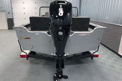 Mercury 150HP 4-Stroke EFI Motor of the 2022 Smoker Craft Adventurer 188 DC Fishing Boat