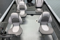 Interior Layout of the 2022 Smoker Craft Adventurer 188 DC Fishing Boat