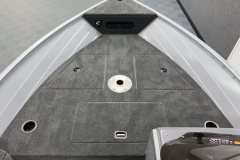 Raised Bow Casting Deck of the 2022 Smoker Craft Pro Angler Fishing Boat