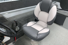 Deluxe Captain's Chair of the 2022 Smoker Craft Pro Angler Fishing Boat