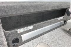 Locking Open Storage of the 2022 Smoker Craft Pro Angler Fishing Boat