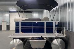 Rear Swim Deck of the 2022 Sylvan Mirage 8520 Cruise Pontoon Boat