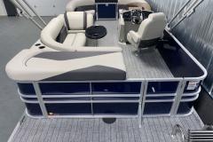 Rear Sunpad of the 2022 Sylvan Mirage 8520 Cruise Pontoon Boat