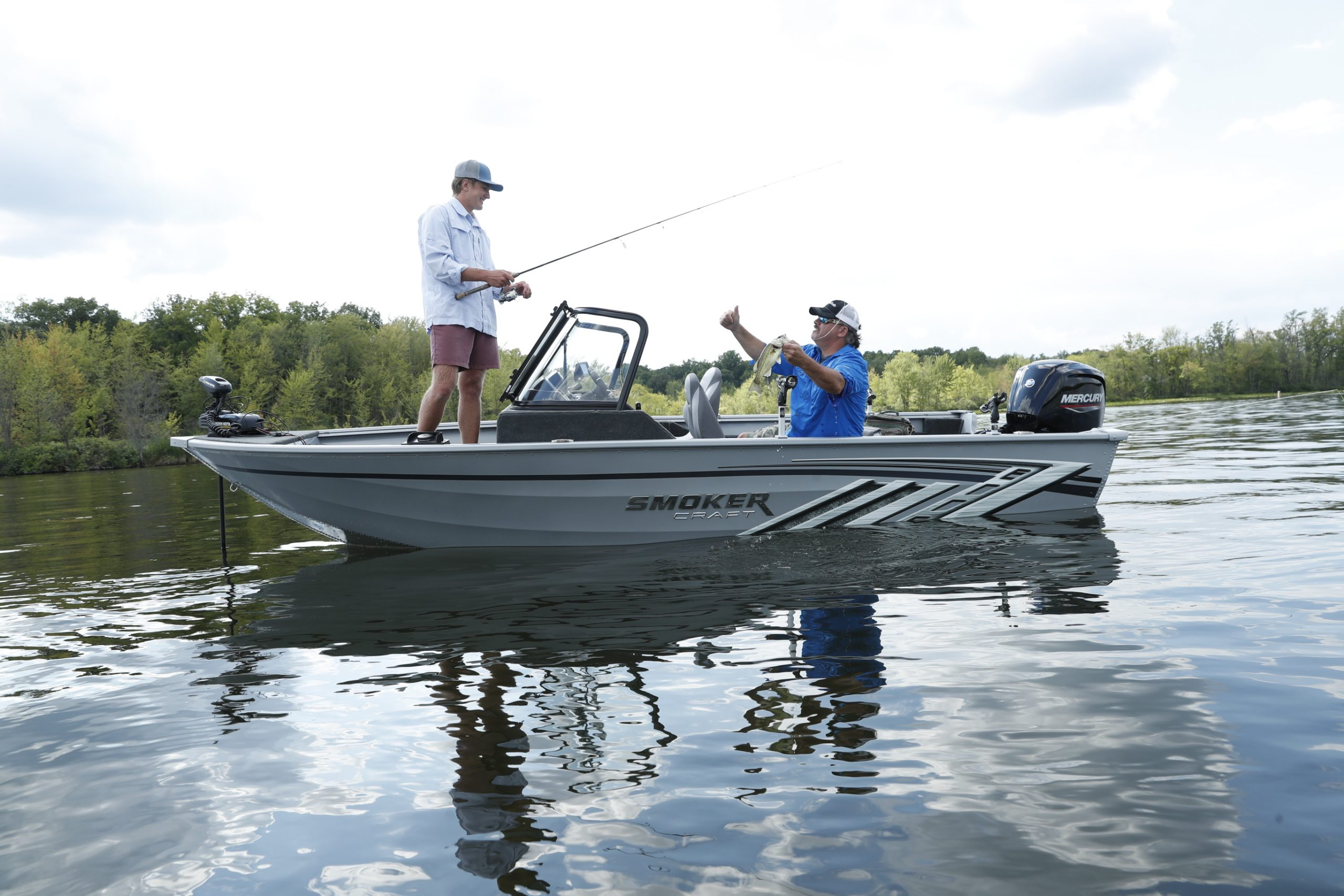 Smoker Craft Boats offers the perfect fishing boat for all different fishing styles and techniques.