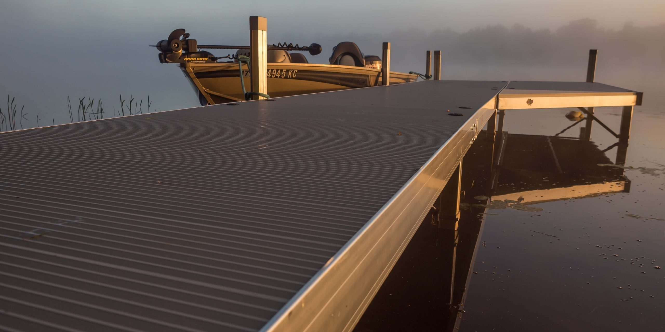 Looking for a new, easy-to-install dock before spring? We carry Floe Docks - and yeah -they're as awesome as this picture looks.