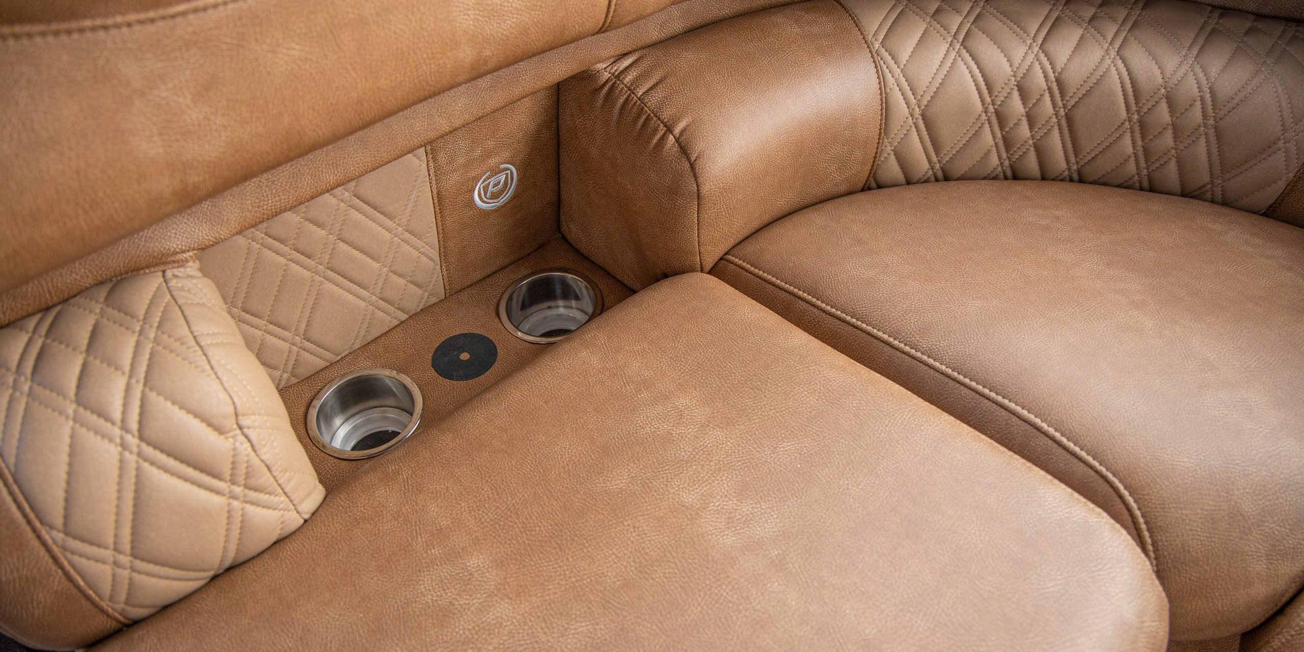 Premier Marine Cognac and Toffee Interior